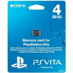 PSV AC SONY PS VITA MEMORY CARD 4GB/