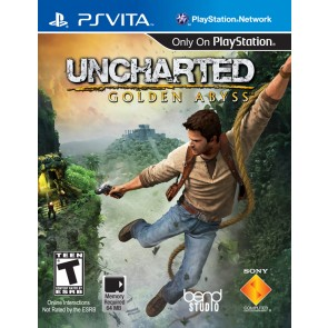 PSV UNCHARTED :GOLDEN ABYSS/