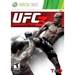 XBX360 UFC: UNDISPUTED 3