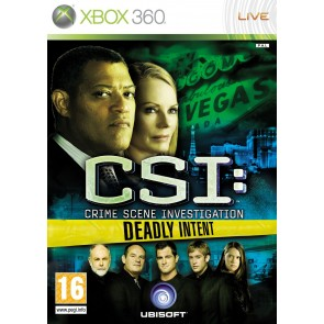 XBX360 CSI 5 (DEADLY INTENT)/