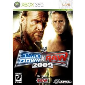 XBX360 WWE SMACKDOWN VS RAW 2009/