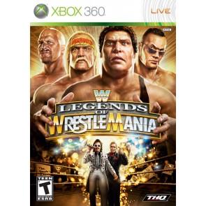 XBX360 WWE LEGENDS OF WRESTLEMANIA/