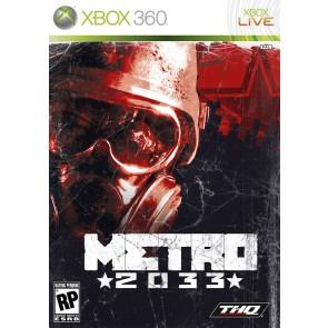XBX360 METRO 2033 : THE LAST REFUGE/