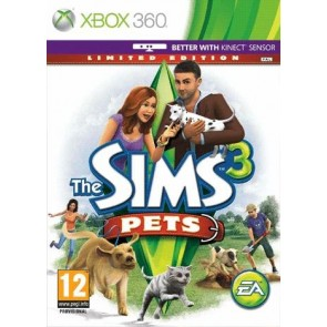 XBX360 THE SIMS 3 PETS (KINECT)/