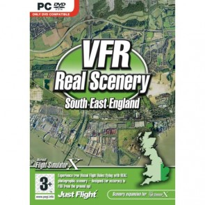 PC VFR REAL SCENERY SOUTH EAST/
