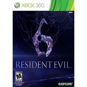 XBX360 RESIDENT EVIL 6/