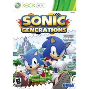XBX360 SONIC GENERATIONS/