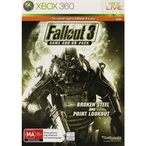 XBX360 FALLOUT 3 EXPANSION 2 (BROKEN STEEL POINT LOOKOUT)