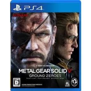 PS4 METAL GEAR SOLID V: GROUND ZEROES (EU)