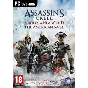 PCCD ASSASSIN'S CREED : BIRTH OF A NEW WORLD - THE AMERICAN SAGA (INCLUDES ASSASSIN'S CREED III, LIB
