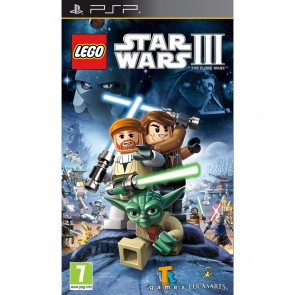 PSP LEGO STAR WARS III : THE CLONE WARS (EU)