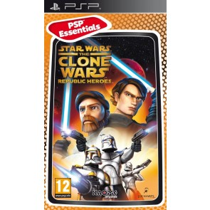 PSP STAR WARS THE CLONE WARS : REPUBLIC HEROES (EU)