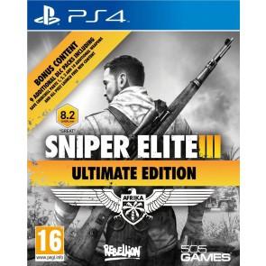 PS4 SNIPER ELITE III ULTIMATE EDITION & 9 DLC PACKS (EU