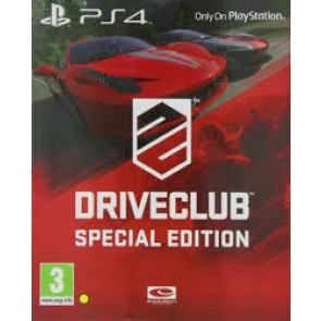 PS4 DRIVE CLUB SPECIAL EDITION