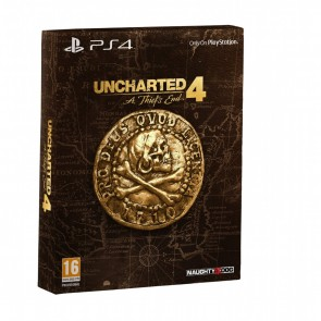 PS4 UNCHARTED 4: A THIEF'S END - SPECIAL EDITION (EU)