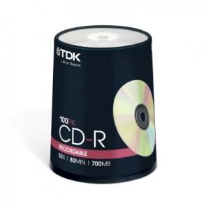 TDK CD-R 80 P100 CAKE