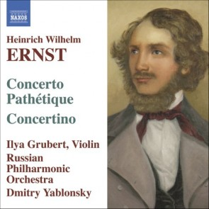 ERNST:MUSIC FOR VLIN AND ORCHESTRA