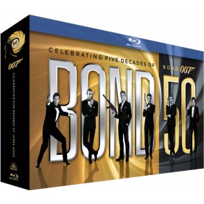 JAMES BOND 007 50TH ANNIVERSARY-BOX SET (22 MOVIES)