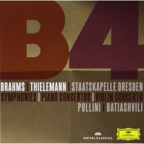 BRAHMS: SYMPHONIES; PIANO