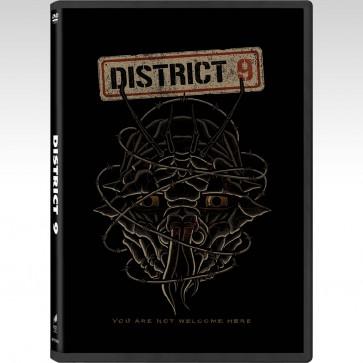 DISTRICT 9/POP ART (DVD)
