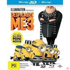 ΕΓΩ Ο ΑΠΑΙΣΙΟΤΑΤΟΣ 3 2D/3D BD/DESPICABLE ME 3 2D/3D BD