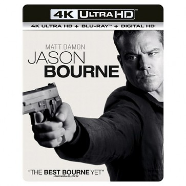 JASON BOURNE 2D BD/ 4K