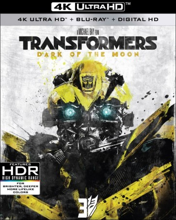 4K UHD TRANSFORMERS: DARK OF THE MOON