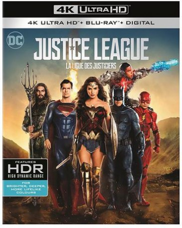JUSTICE LEAGUE 4K UHD