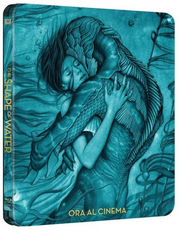 Η ΜΟΡΦΗ ΤΟΥ ΝΕΡΟΥ (STEELBOOK) BD/THE SHAPE OF WATER (STEELBOOK) BD