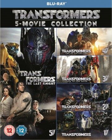 TRANSFORMERS: 5 MOVIE COLLECTION (STEELBOOK)(5BD)