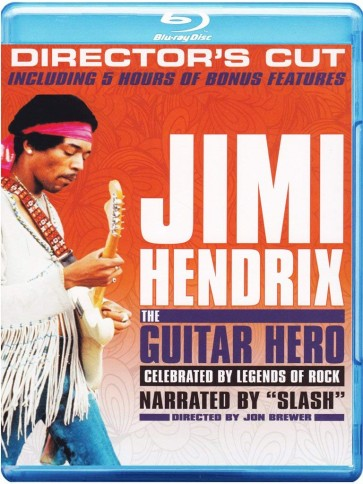 JIMI HENDRIX:THE GUITAR HERO (2 BLU RAY)