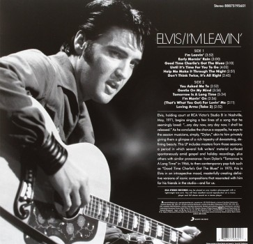 I'M LEAVIN: ELVIS FOLK-COUNTRY (LP) RSD2016