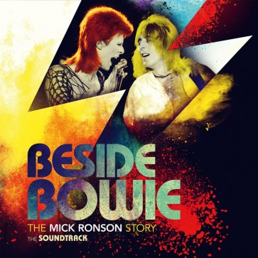 BESIDE BOWIE:THE MICK RONS 2LP