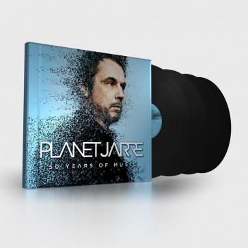 PLANET JARRE (4 x 180g heavyweight vinyl, book + 5.1. download)
