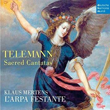 TELEMANN: SACRED CANTATAS (CD)