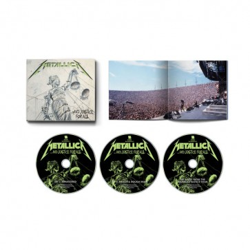 AND JUSTICE FOR ALL 3CD