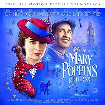 MARY POPPINS RETURNS CD