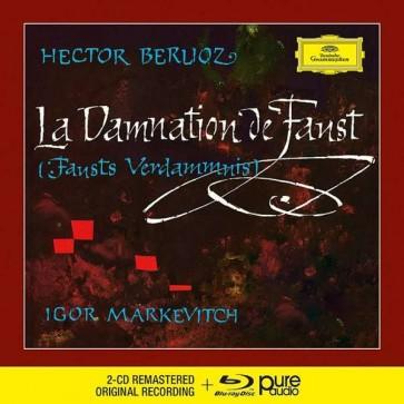 LA DAMNATION DE FAUST 2CD+1BLU RAY