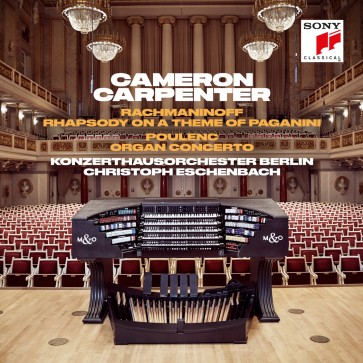 RACHMANINOFF: RHAPSODY ON A THEME OF PAGANINI &  POULENC: ORGAN CONCERTO (CD)