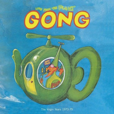 LOVE FROM THE PLANET GONG 12CD+DVD