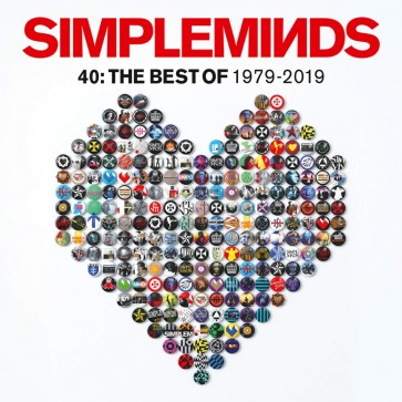 FORTY: THE BEST OF SIMPLE MINDS CD