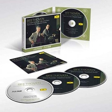 COMPLETE WORKS FOR CELLO AND PIANO 2CD+BLU RAY