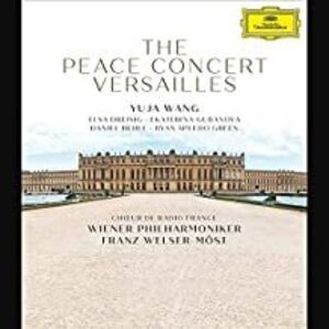 THE PEACE CONCERT VERSAILLES BLU RAY