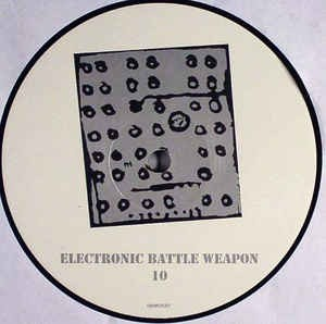"ELECTRONIC BATTLE WEAPON ¾ 10""LP BLACK FRIDAY"