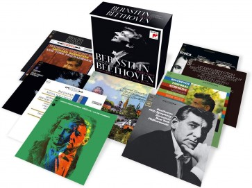 BERNSTEIN CONDUCTS BEETHOVEN - REMASTERED 10CD