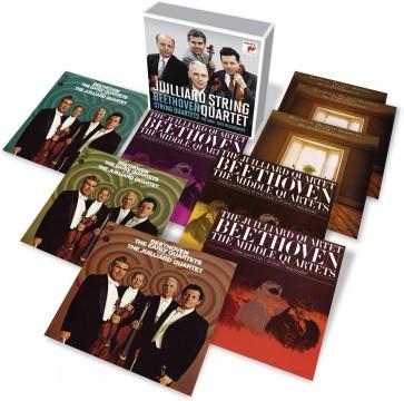 JUILLIARD STRING QUARTET - THE BEETHOVEN 9CD