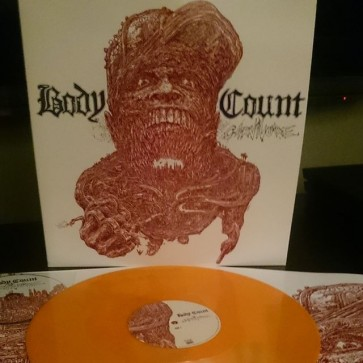 CARNIVORE LP+CD ORANGE