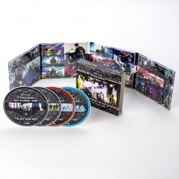 THE GREAT ADVENTOUR - LIVE IN BRNO 2019 2CD+BLU RAY