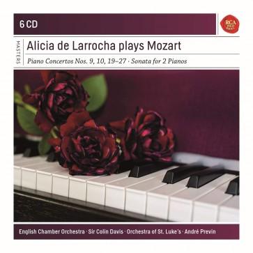 ALICIA DE LARROCHA PLAYS MOZART 6CD