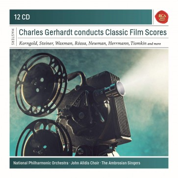 CHARLES GERHARDT CONDUCTS CLASSIC FILM  12CD